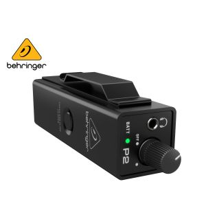Behringer P2 Ultra Compact Personal In Ear Monitor Amplifier