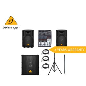 Behringer Pro Audio Package 15