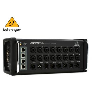 Behringer SD16 8 Output Digital I/O Stage Box With 16 Remote Controllable Midas Preamps