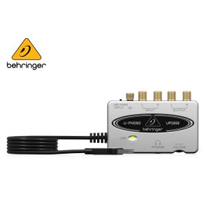 Behringer UFO202 Audiophile USB/Audio Interface with Built-in Phono Preamp